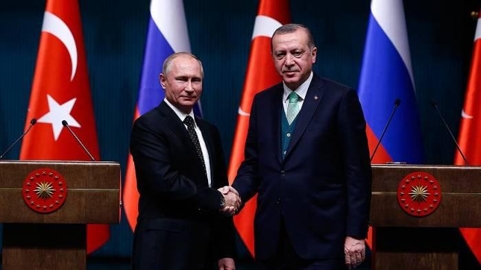 Ərdoğan Putinə başsağlığı verib