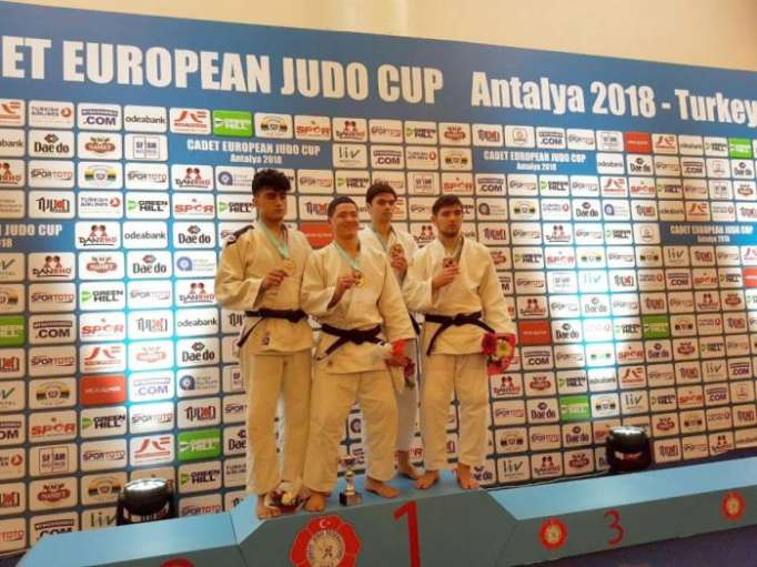 Azerbaijani fighters claim five medals at Cadet European Judo Cup