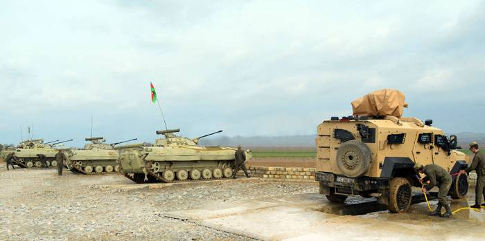 Large-scale exercises of Azerbaijani Army ended - VIDEO