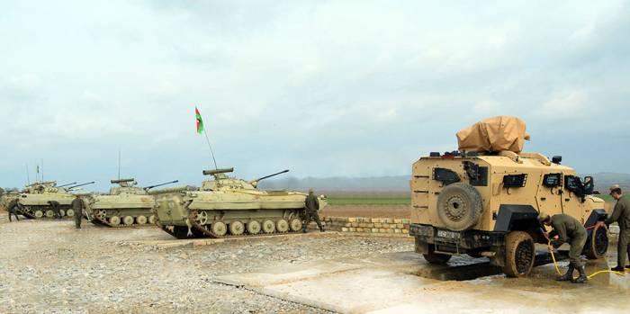 Ordunun genişmiqyaslı təlimləri başa çatdı - FOTOLAR+VİDEO