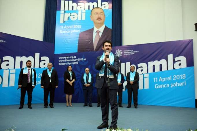 Gəncəlilərin seçimi İlham Əliyevdir - VİDEO