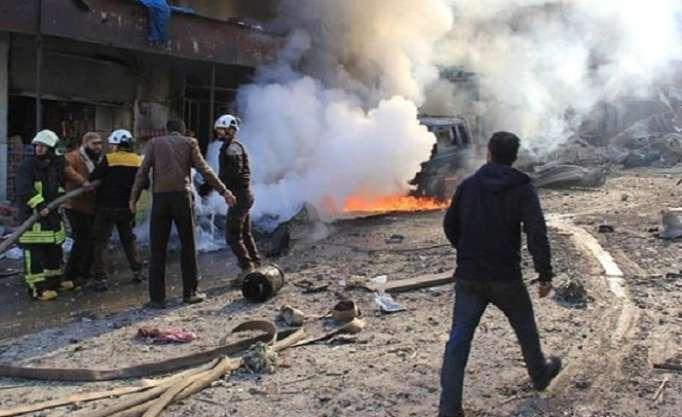 Bazar bombardman edildi: 28 ölü, 26 yaralı