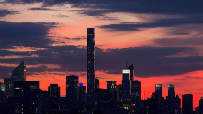 Neue Wolkenkratzerin New York