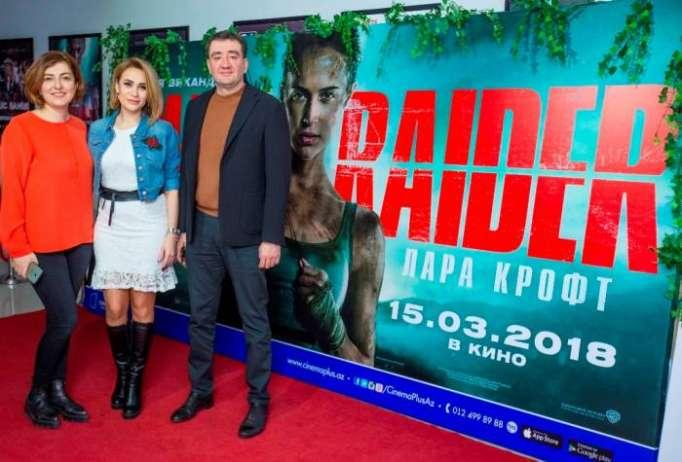 """Tomb Raider: Lara Kroft"" filminin premyera öncəsi nümayişi olub - VİDEO"