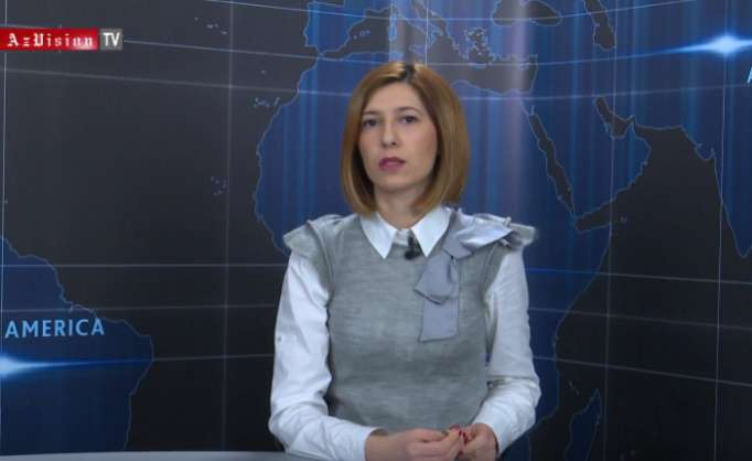 AzVision TV releases new edition of news in English for March 13-VIDEO