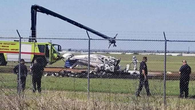 Fiery crash at Laredo airport leaves 3 dead