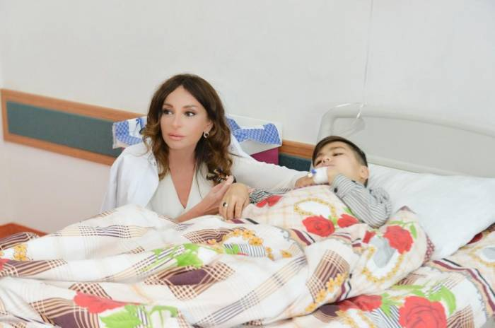 First VP Mehriban Aliyeva visits Thalassemia Center - PHOTOS