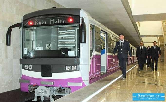 Rusiyada Bakıya yeni metro qatarları gətirilir