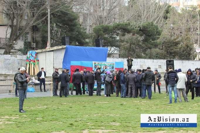 Radikalların növbəti uğursuz mitinqi - FOTOLAR, VİDEO