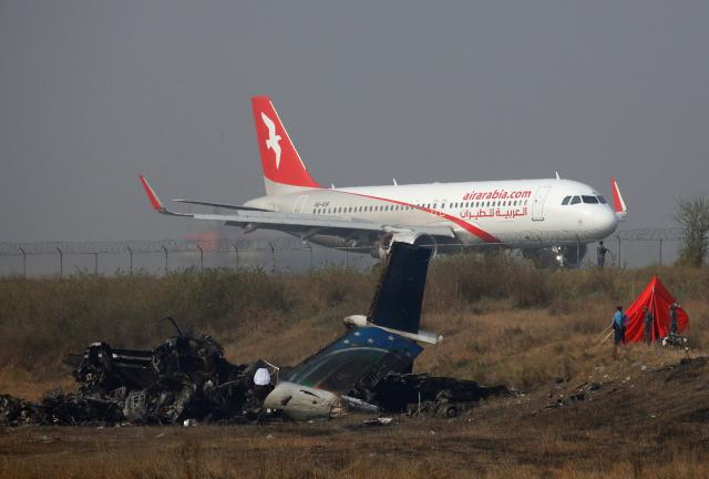 Nepal begins probe of plane crash that killed 49, airline defends pilot