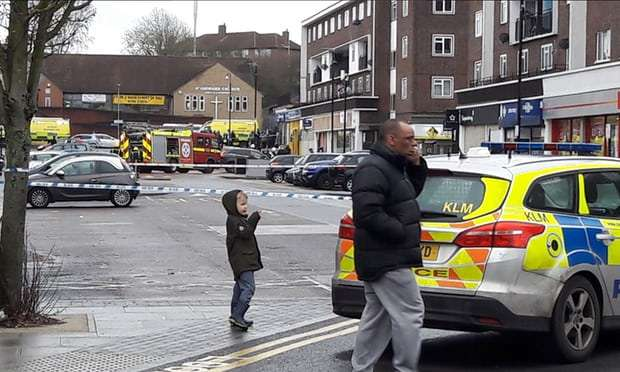 Police respond to reports of explosion in north-east London