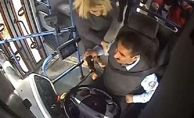 Qadın sərnişinin sürücünü döyməsi ilə bağlı rəsmi AÇIQLAMA - VİDEO