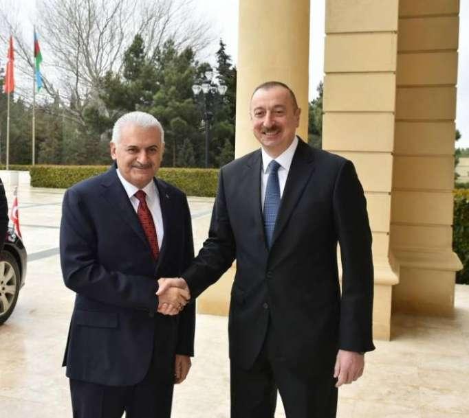 President Aliyev meets Turkish PM