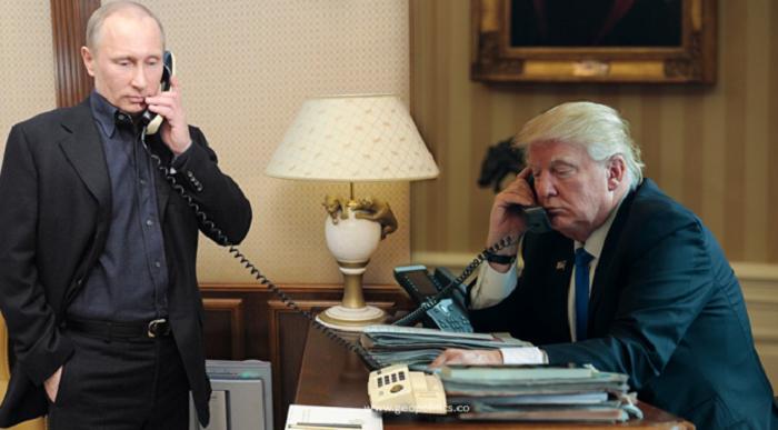 De quoi Trump et Poutine ont-ils parlé lors de leur entretien téléphonique?
