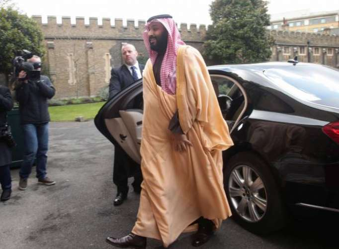 Saudi Crown Prince signs off UK visit with push for fighter deal