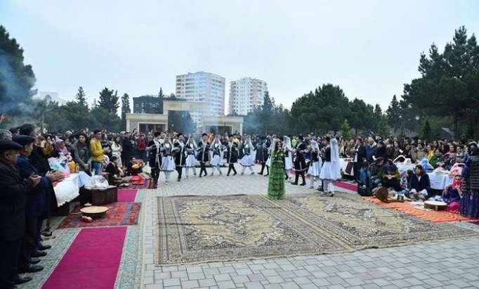Sumqayıt Universitetində Novruz bayramı keçirilib