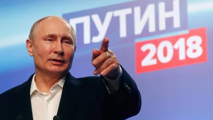Putin yenidən Rusiya prezidenti seçildi - Yenilənib