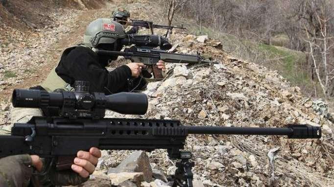 Türkiyə ordusu İraqda 50 terrorçunu məhv edib