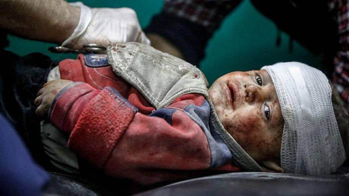 Suriyada 7 ildə 2500 uşaq öldürülüb