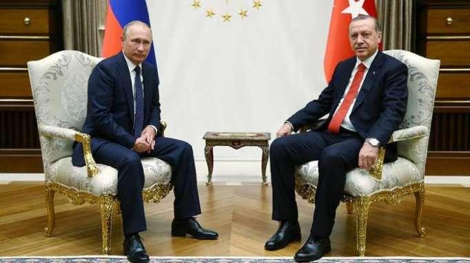Erdogan a félicité Poutine