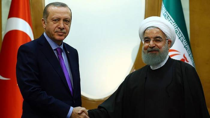 Erdogan, Rouhani discuss Syrian cease-fire, Eastern Ghouta