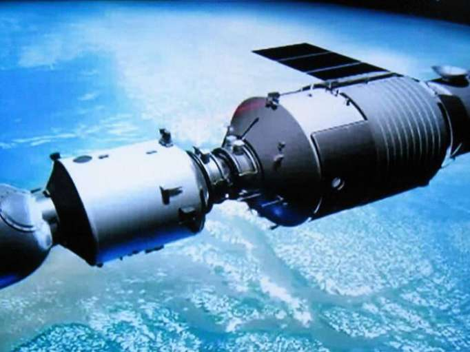 Chinese space station could emit highly toxic vapours
