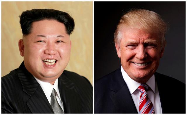 Trump says Kim meeting is