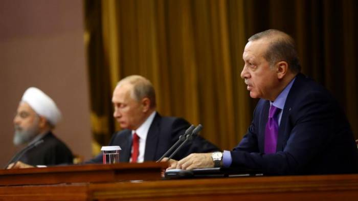 Leaders of Russia, Turkey, Iran to discuss Syria on Wednesday, Kremlin says