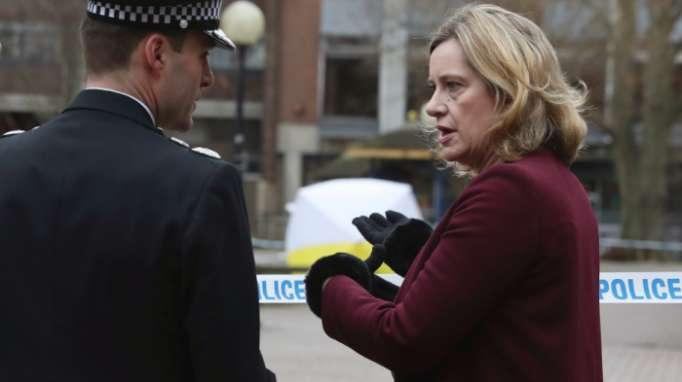 UK home secretary visits city where ex-Russian spy poisoned
