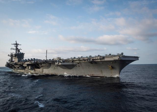 U.S. aircraft carrier arrives in Vietnam on landmark visit