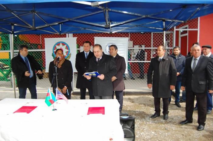 U.S., Azerbaijan help farmers make affordable animal feed in Imishli