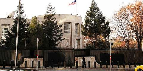 US Embassy in Ankara to be closed Monday after security threat
