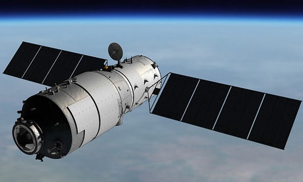 Scientists unsure where Chinese space station will crash to Earth