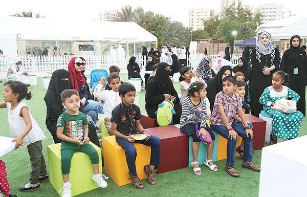قرية الطفل.. مدرسة ملهمة في أيام الشارقة التراثية
