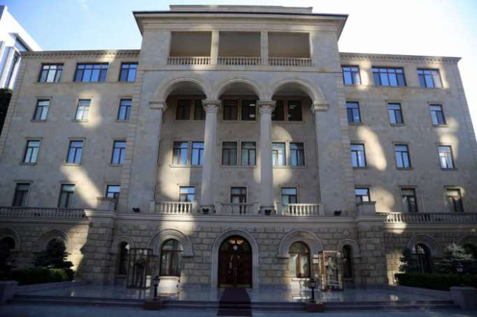 Azerbaijani Defense Ministry issues statement regarding current situation in Armenia