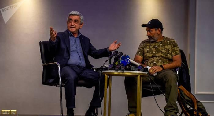 Pashinyan, Sargsyan