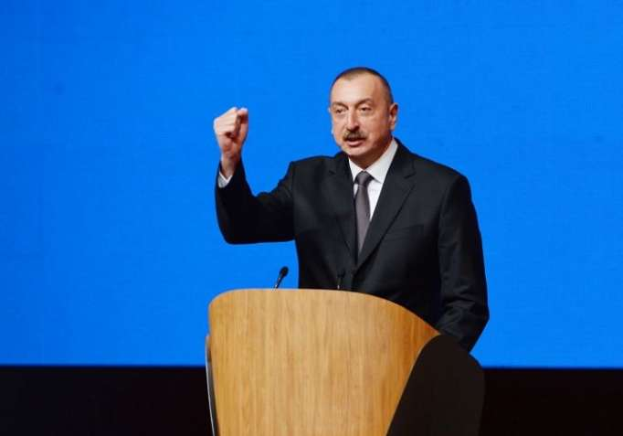 """İlham Əliyev: """"Keçdiyimiz yol şərəfli yoldur"""""""