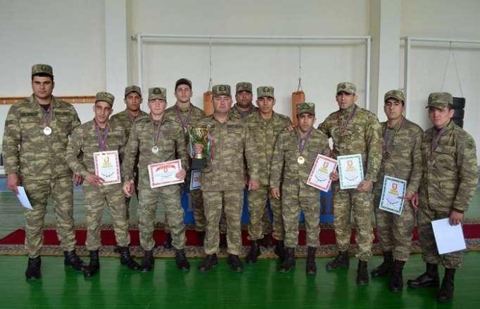 Güləş və cüdo üzrə Ordu birinciliyi keçirilib