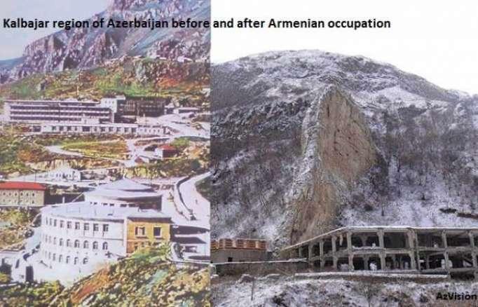 Pasan 25 años desde la ocupación de Kalbadzar
