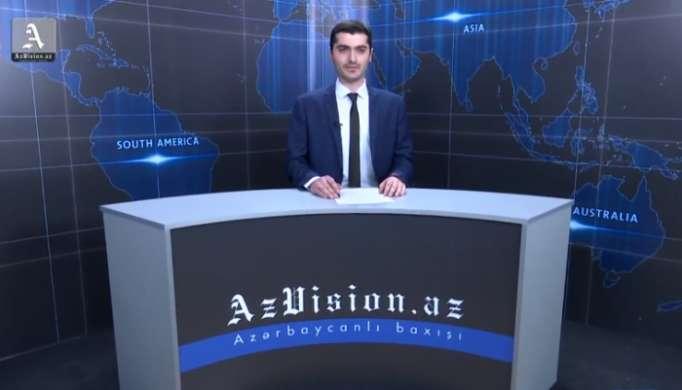 AzVision TV:Die wichtigsten Videonachrichten des Tages auf Englisch (6 April)-VIDEO