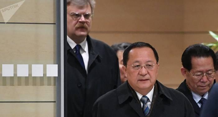 Nordkoreas Außenminister in Moskau eingetroffen – VIDEO