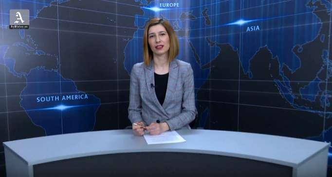 AzVision TV:Die wichtigsten Videonachrichten des Tages auf Englisch (10 April)-VIDEO