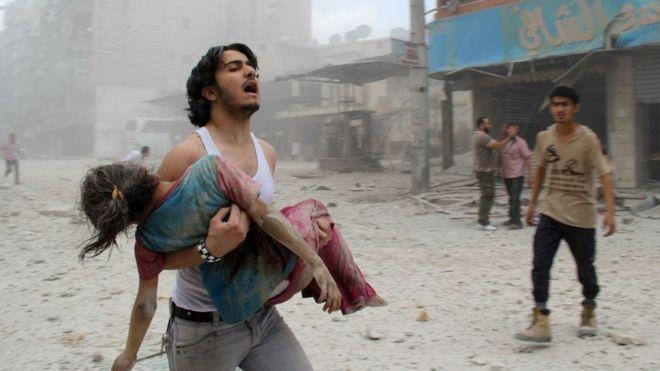 Resultado de imagen para Siria denuncia ante la ONU matanza de civiles por EEUU