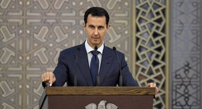 Assads erster Kommentar zum Angriff auf Syrien