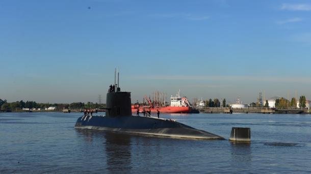 Una compañía española buscará el submarino ARA San Juan