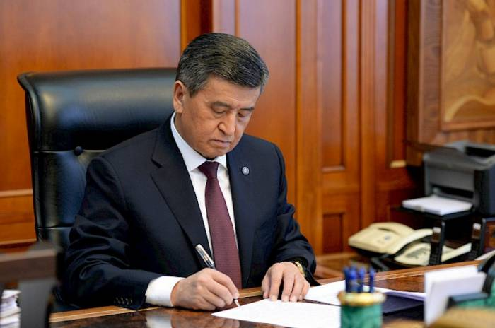 Qırğızıstanın yeni baş naziri məlum oldu