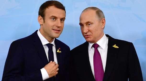 """Macron: """"Putin ist besessen"""""""
