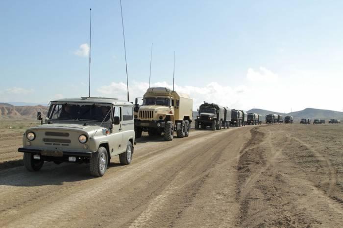 Учения азербайджанской армии в Нахичеване, 2018 г.