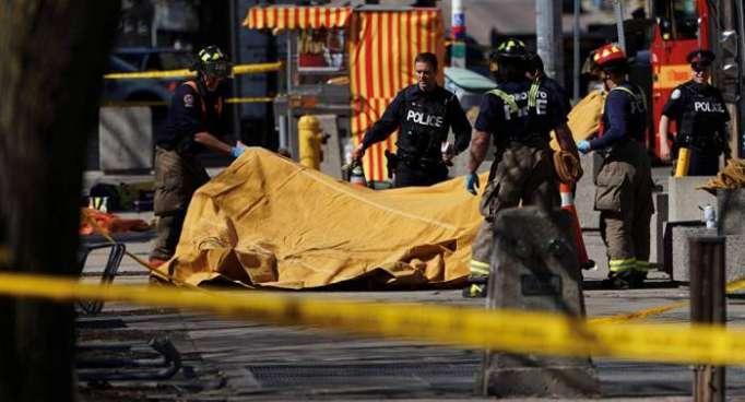 Kanada: Minibus rast in Menschengruppe in Toronto - zahlreiche Opfer gemeldet