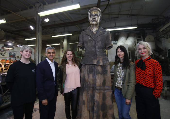 Millicent Fawcett becomes first woman honoured with statue in Parliament Square